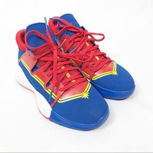 NWT Adidas Pro Vision Marvel Basketball Sneakers